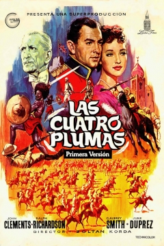 Poster Las Cuatro Plumas