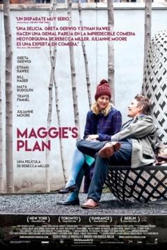 Poster El Plan de Maggie