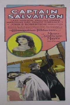 Poster Captain Salvation