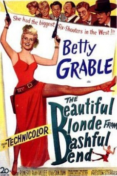 Poster The Beautiful Blonde From Bashful Bend