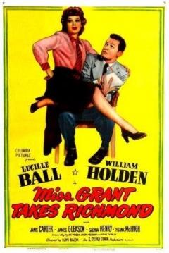 Poster El Empleo de la Srta. Grant