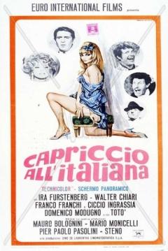 Poster Caprice Italian Style