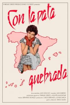 Poster Con la Pata Quebrada