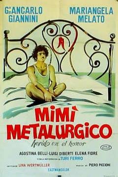 Poster Mimí Metalúrgico, Herido en su Honor