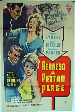 Poster Regreso a Peyton Place