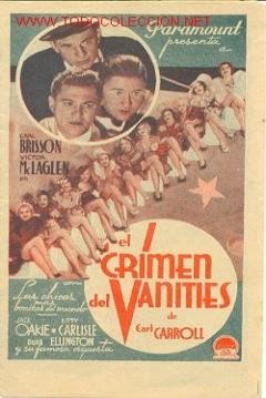 Poster El Crimen del Vanities