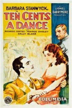 Poster Ten Cents a Dance