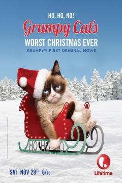 Poster Las Peores Navidades de la Gata Gruñona