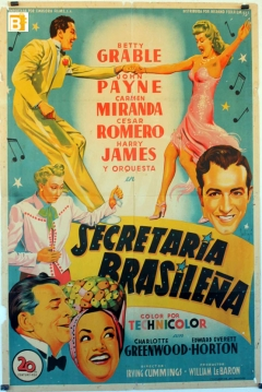 Poster Secretaria Brasileña