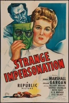 Poster Extraña Interpretación