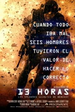 Poster 13 Horas: Los Soldados Secretos de Bengasi