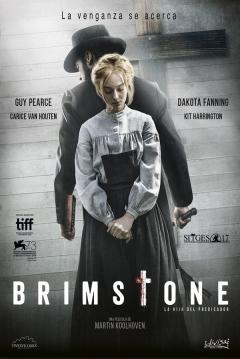 Poster Brimstone: La Hija del Predicador