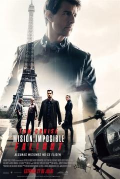 Poster Misión Imposible 6 (Misión Imposible: Fallout)
