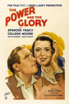 Poster Poder y Gloria