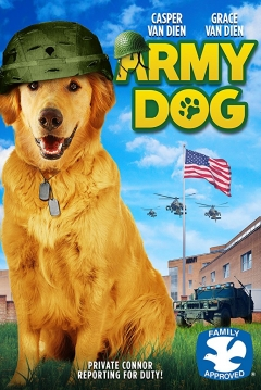 Poster Army Dog