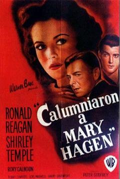 Poster Calumniaron a Mary Hagen