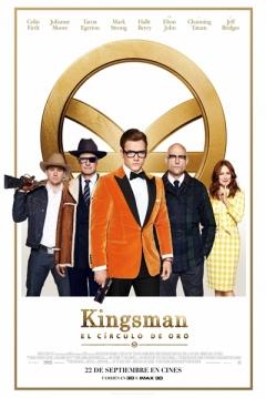 Poster Kingsman 2: El Circulo De Oro