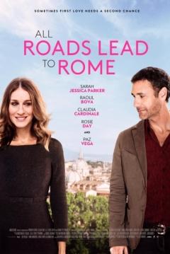 Poster Todos los Caminos Llevan a Roma
