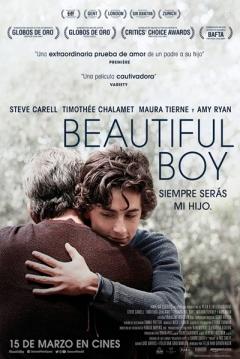 Poster Beautiful Boy, siempre serás mi hijo