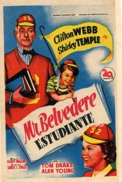 Poster Mr. Belvedere Estudiante