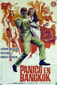 Poster Pánico en Bangkok