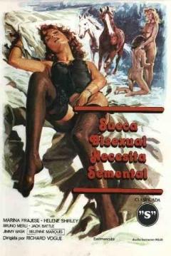 Poster Sueca Bisexual Busca Semental