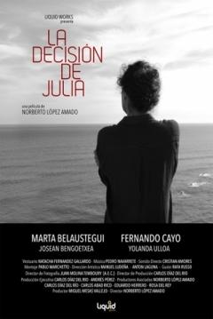 Poster La Decisión de Julia