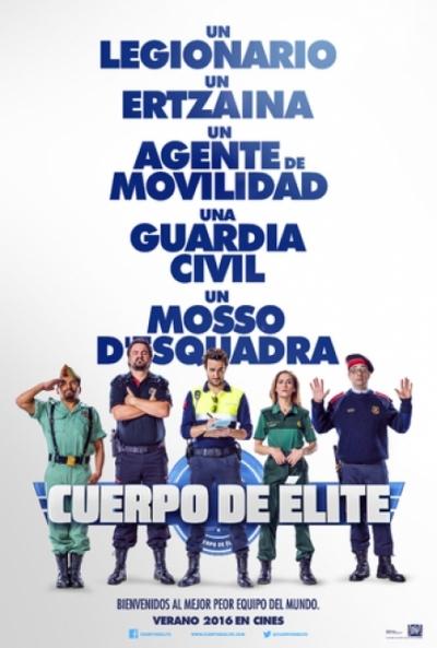 Poster Cuerpo de Élite