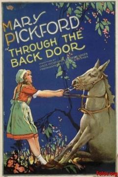 Poster Through The Back Door