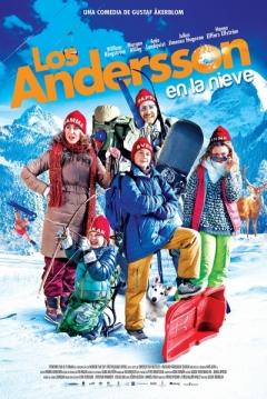 Poster Los Andersson en la nieve