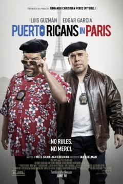 Poster Puertorriqueños en Paris
