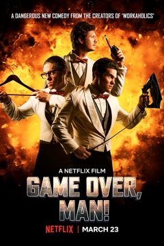 Poster ¡Game Over, Tío!