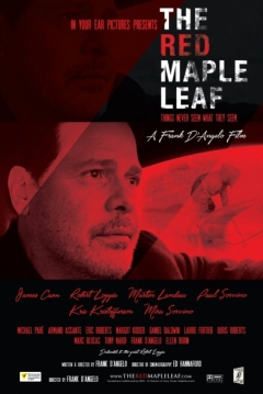 Poster The Red Maple Leaf
