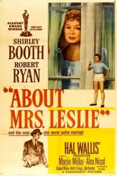 Poster About Mrs. Leslie