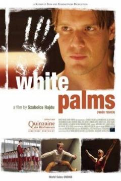 Poster White Palms