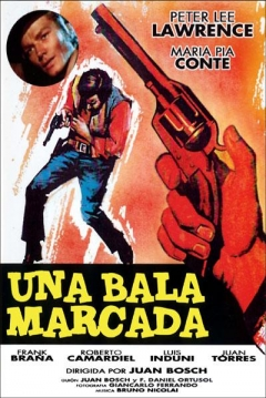 Poster Una bala marcada