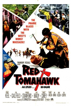 Poster Tomahawk Rojo