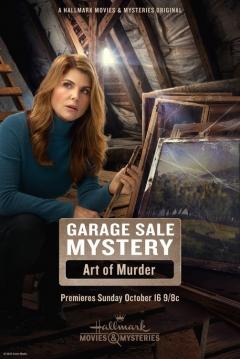 Poster Garage Sale Mystery: The Art Of Murder