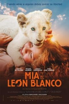 Poster Mía y el León Blanco