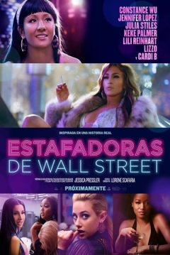 Poster Estafadoras de Wall Street