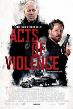Poster Actos de Violencia