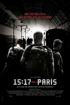 Poster 15:17 Tren a París
