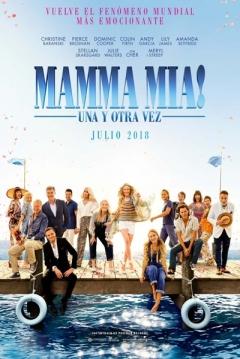 Poster Mamma Mia! Una y Otra Vez