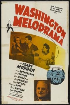 Poster Washington Melodrama