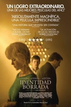 Poster Identidad Borrada