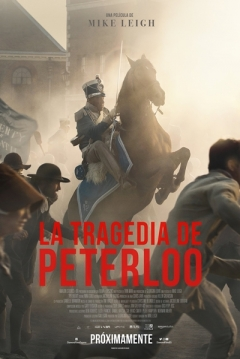 Poster La tragedia de Peterloo