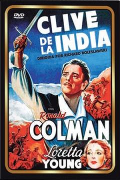 Poster Clive de la India