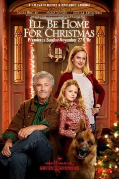 Poster Estaré en Casa esta Navidad