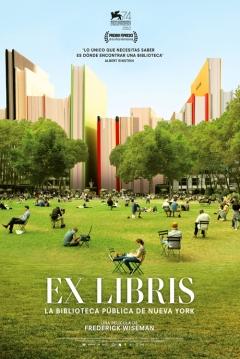 Poster Ex Libris: La Biblioteca Pública de Nueva York