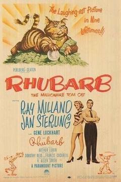 Poster Rhubarb